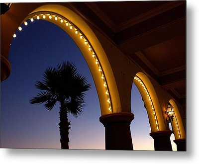 Arches Metal Print by Lora Lee Chapman