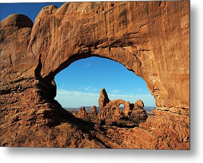 Metal Print featuring the photograph Arches National Park 61 by Jeff Brunton