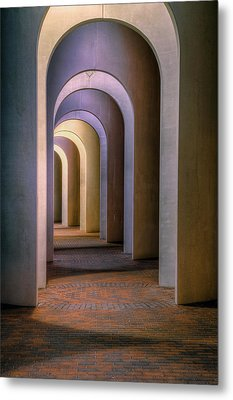 Arches Of The Ferguson Center Metal Print