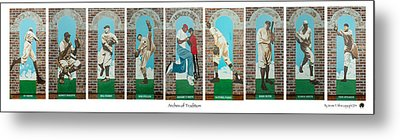 Arches Of Tradition Metal Print by Jerome White