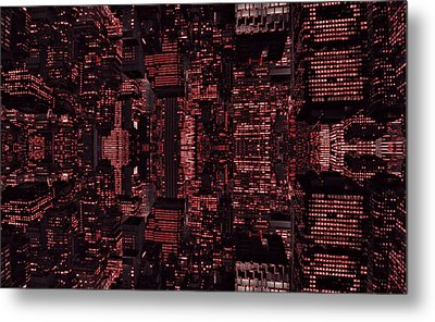 Architect Of The Future Metal Print by Dan Sproul