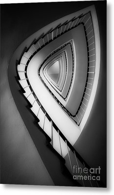 Architect's Beauty Metal Print by Hannes Cmarits