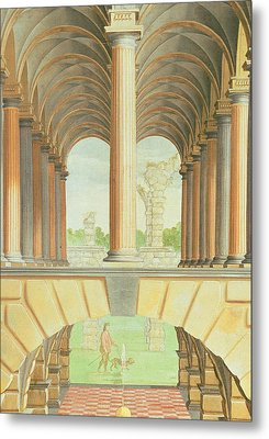 Architectural Capriccio Metal Print by Jacobus Saeys