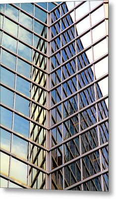 Architectural Details Metal Print by Valentino Visentini
