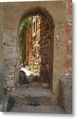 Metal Print featuring the photograph Archway by Pema Hou