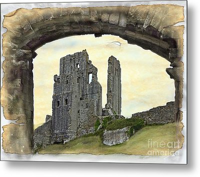 Archway To History Metal Print