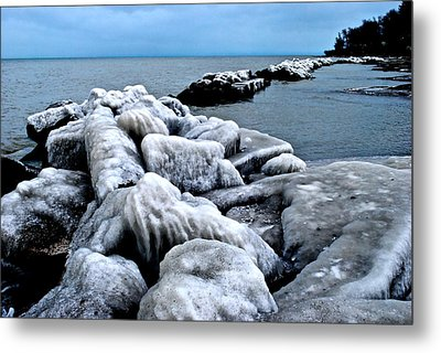 Arctic Waters Metal Print by Frozen in Time Fine Art Photography