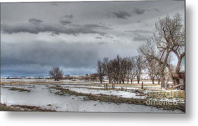 Ardmore Prairie Metal Print by Bill Gabbert