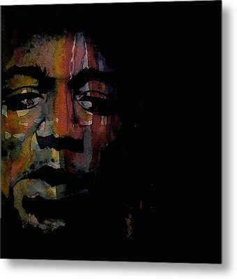 Are You Experienced Metal Print by Paul Lovering