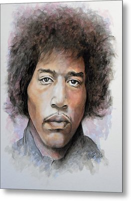 Are You Experienced Metal Print by William Walts
