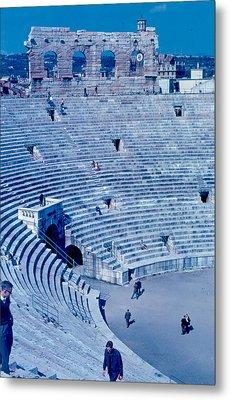 Arena Verona Interior 1962 Metal Print by Cumberland Warden