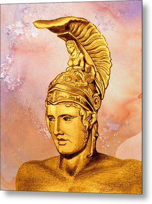 Ares 2 Metal Print by Patricia Howitt