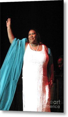 Aretha Franklin Metal Print