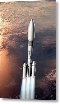 Ariane 6 Rocket Launch Metal Print