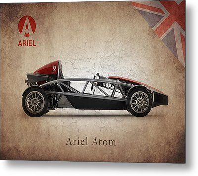 Ariel Atom Metal Print by Mark Rogan