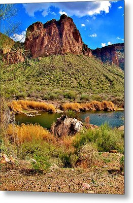 Arizona At Its' Best Metal Print by Marilyn Smith