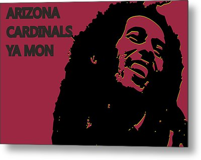 Arizona Cardinals Ya Mon Metal Print by Joe Hamilton