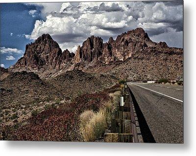 Arizona Road Metal Print by Joyce Isas