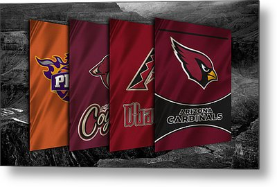 Arizona Sports Teams Metal Print by Joe Hamilton