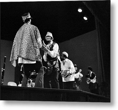 Arkestra Procession 1968 Metal Print by Lee  Santa