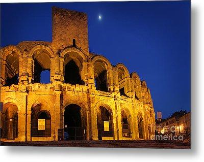Arles Roman Arena Metal Print