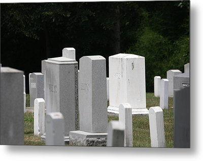 Arlington National Cemetery - 121213 Metal Print by DC Photographer