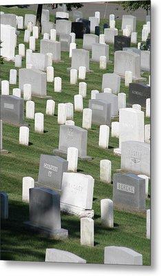 Arlington National Cemetery - 12122 Metal Print by DC Photographer