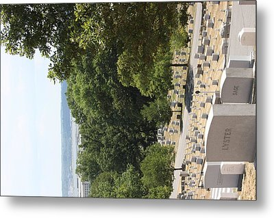 Arlington National Cemetery - 121227 Metal Print by DC Photographer