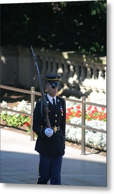 Arlington National Cemetery - Tomb Of The Unknown Soldier - 121215 Metal Print by DC Photographer