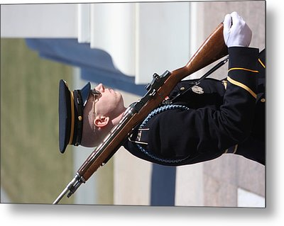 Arlington National Cemetery - Tomb Of The Unknown Soldier - 121228 Metal Print