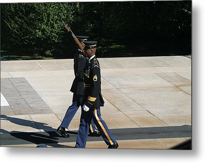 Arlington National Cemetery - Tomb Of The Unknown Soldier - 12127 Metal Print by DC Photographer