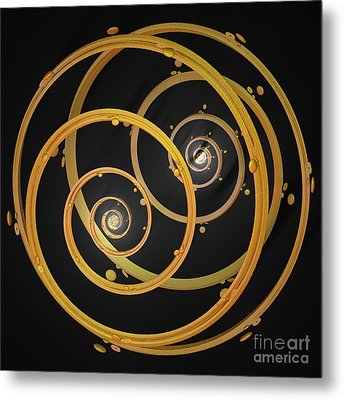 Armillary By Jammer Metal Print by First Star Art