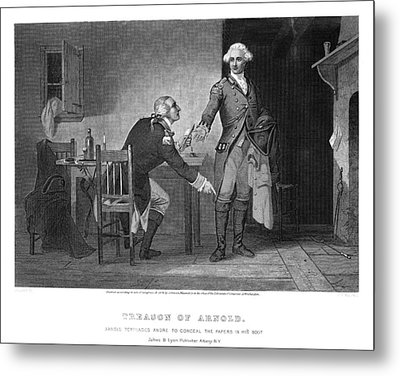 Arnold & Andre, 1780 Metal Print by Granger