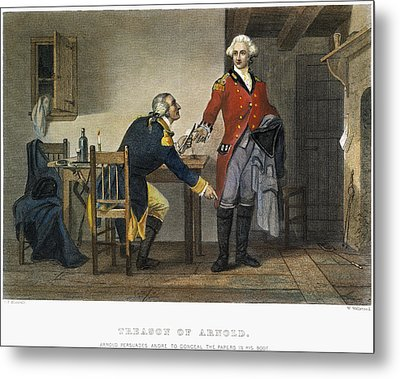 Arnold And Andre, 1780 Metal Print by Granger