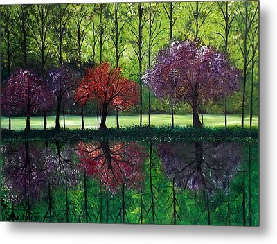 Around Bristol Park Metal Print