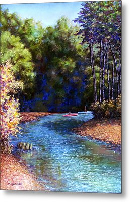 Around The Bend Metal Print by Tanja Ware