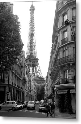 Metal Print featuring the photograph Around The Corner by Lisa Parrish