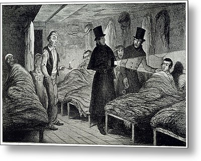 Arrested Metal Print by British Library