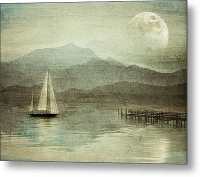 Arrival Metal Print by manhART