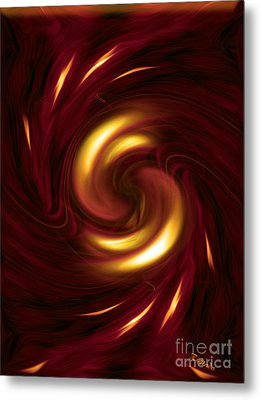 Arrogance - Abstract Art By Giada Rossi Metal Print by Giada Rossi