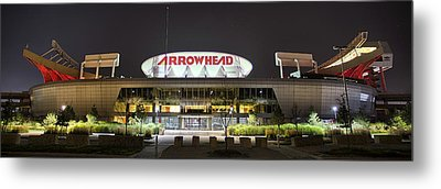 Arrowhead Night Metal Print