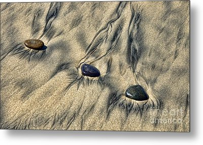 Art By Mother Nature Metal Print by Peggy Hughes