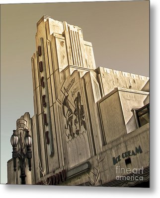 Art Deco Building Metal Print by Gregory Dyer