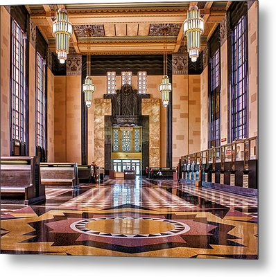 Art Deco Great Hall #1 Metal Print by Nikolyn McDonald