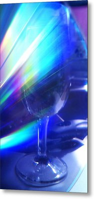 Metal Print featuring the photograph Art Glass by Martin Howard