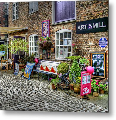 Art In The Mill Metal Print by Doc Braham