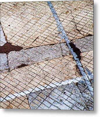 Art In The Street 3 Metal Print by Carol Leigh