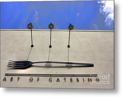 Art Of Catering Metal Print by David Bearden