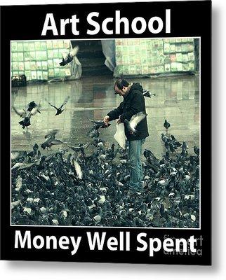 Art School Metal Print by John Rizzuto