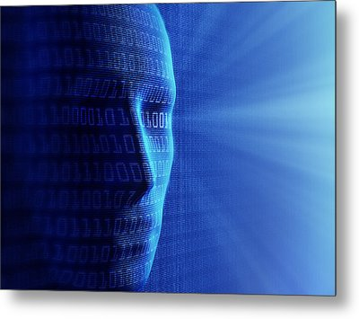 Artificial Intelligence Metal Print by Johan Swanepoel